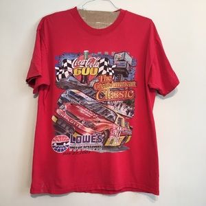 Red 600 Winston Cup 2001 L T Shirt